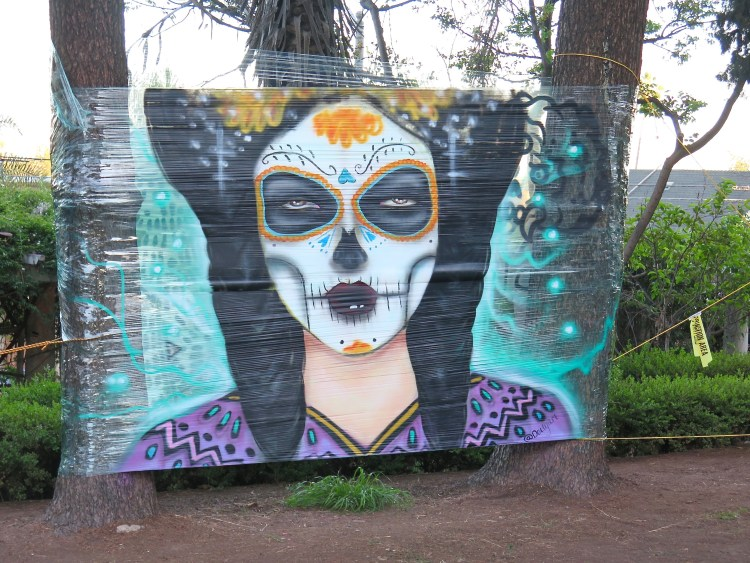 Timely, Día de los Muertos is right around the corner.