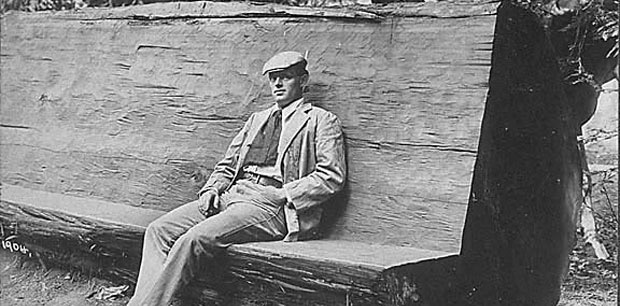 """Jack London was a journalist, author, adventurer, and a farmer. He loved the Sonoma Valley, and had planned to build a sustainable farm where he and his wife Charmain could settle. His property in the """"Valley of the Moon"""" — as he called Sonoma Valley — became a state park in 1960 with 39 acres, a museum, London's gravesite and the ruins of Wolf House."""