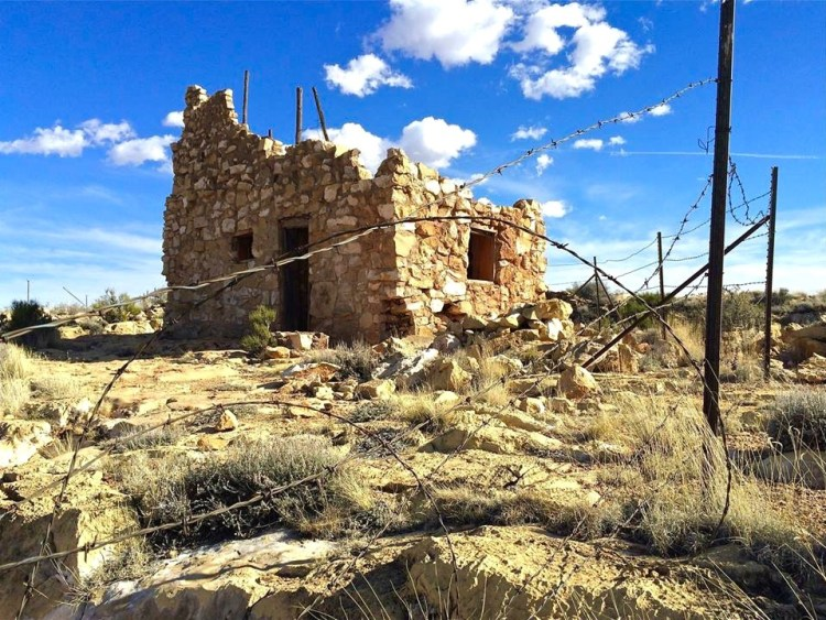 ...or check out the ruins of an old cabin built over an Apache death cave, where a man was murdered in cold blood over a land dispute.