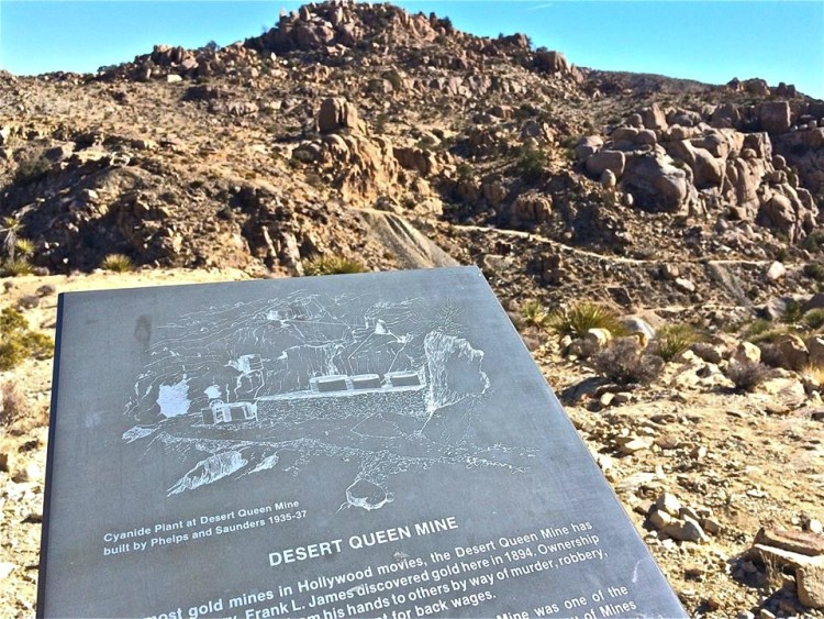 The Desert Queen Mine was one of the more successful and long-lived mines of the high desert (