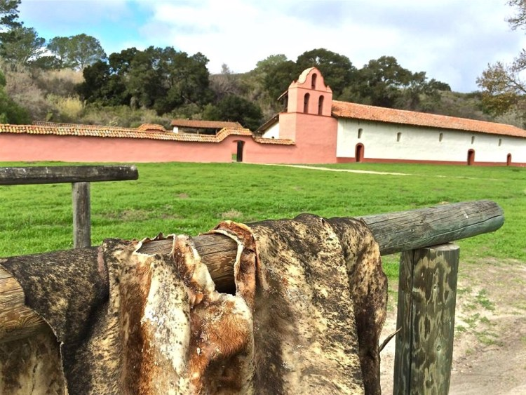 The mission was best known for its hides and blankets, and at its peak inhabitants herded as many as 24,000 cattle and sheep.