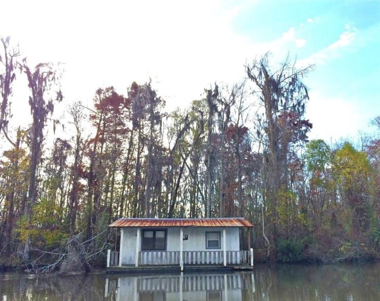 Bayou Houseboat