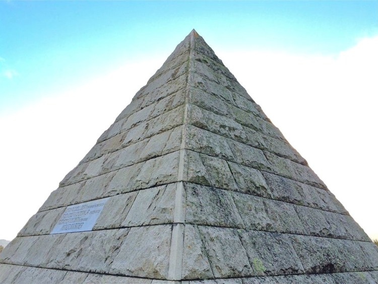 The Dorn Pyramid in SLO