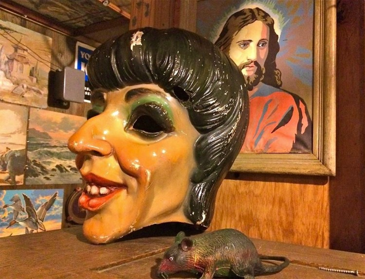 Liza + Jesus + a rat & a screw = A fucked up reality a lot of us have dealt with in our lives.