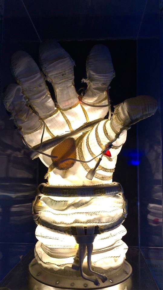 Lighted Astronaut Glove (don't ask)