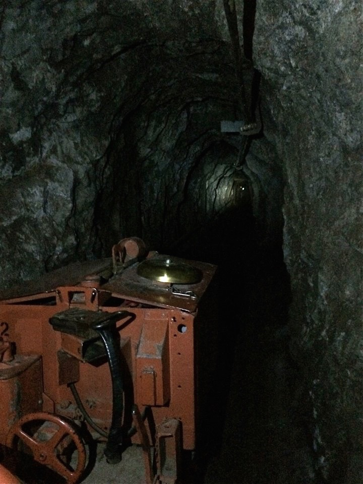 At its peak, the mines included more than 2,500 miles of tunnels. That's a lot of underground exploration.