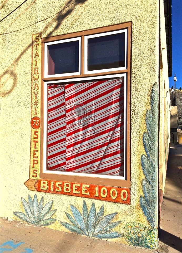 Bisbee is an extremely walkable town...