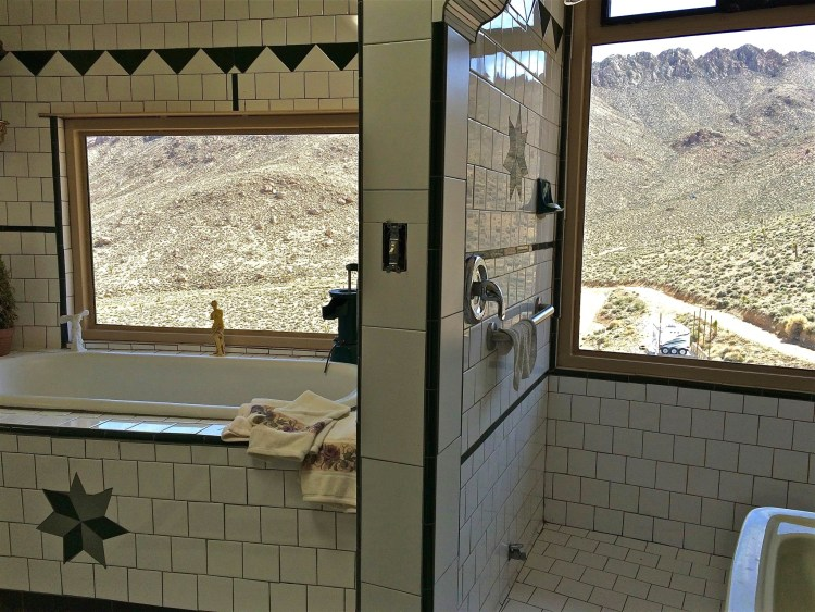 ...which includes the master bath.