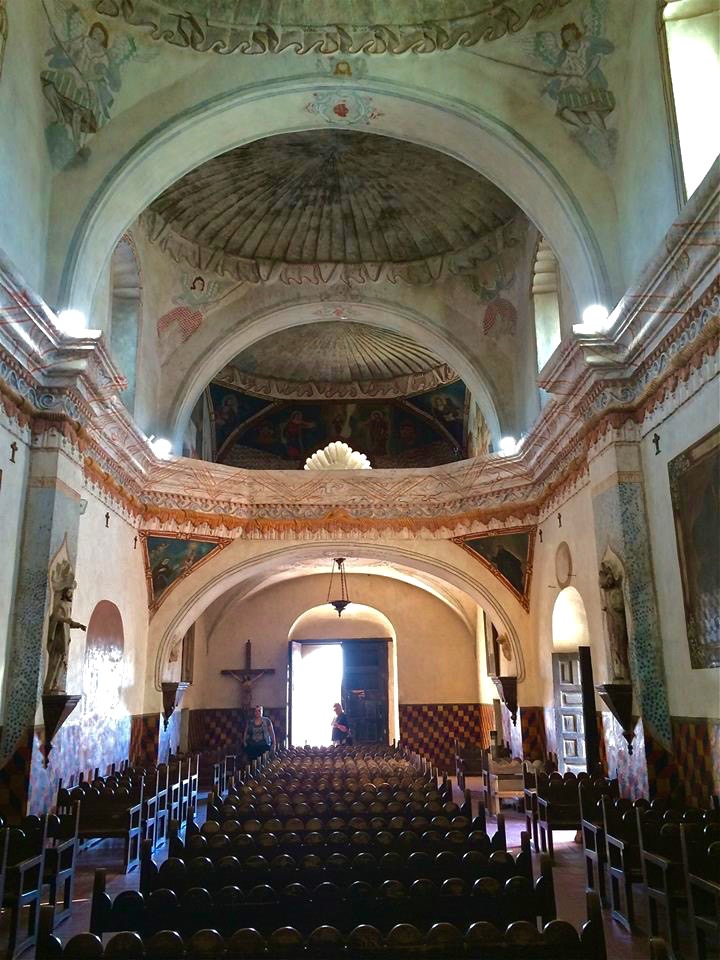 Extensive restoration in the late 20th century has returned the Mission interior to its historic splendor.