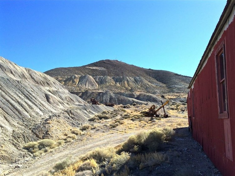 Jim's wife, Belle urged him to travel once again to the site of the original find and filed eight claims and removed several tons of ore. For a one quarter share, Wilse Brougher hauled the ore by horse and wagon to Austin, then by rail to Salt Lake City for smelting.