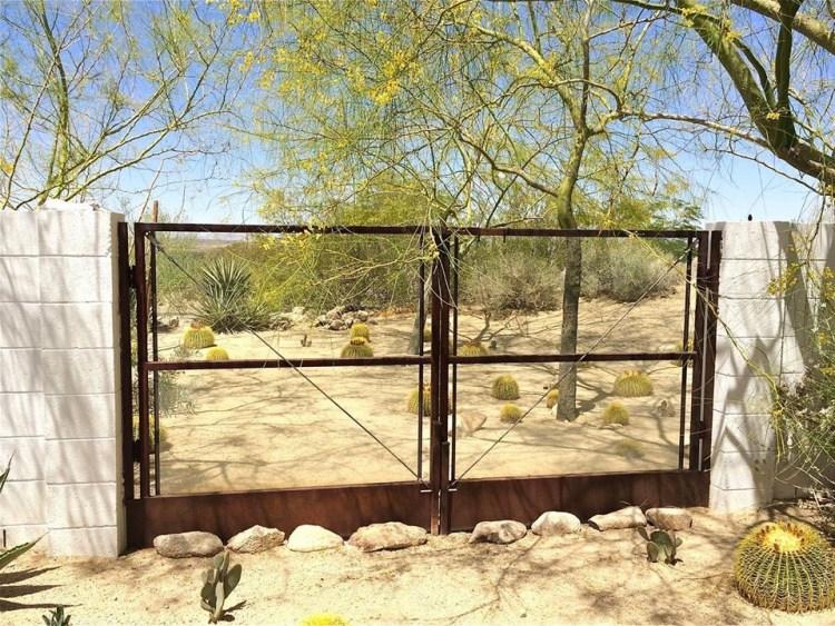 Barrel Cactus/Palo Verde Scape