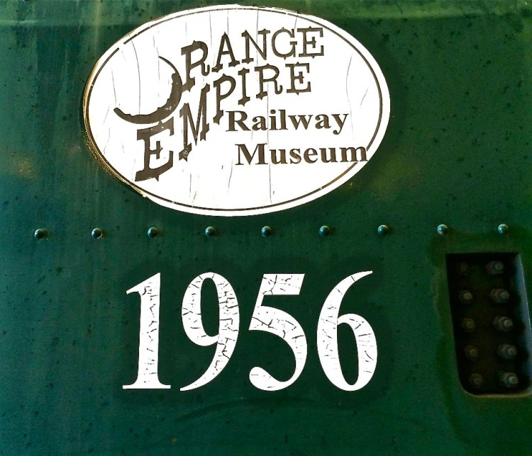 The Orange Empire Railway Museum was founded in 1956.