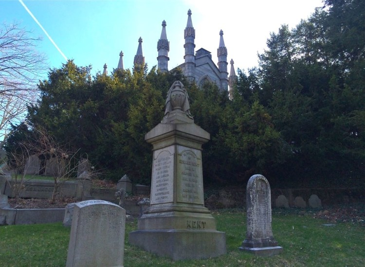 Founded in 1831, Mt. Auburn Cemetery stands in stark contrast to the surrounding Colonial-era graveyards like Granary and Copp's Hill Burying Ground in Boston.