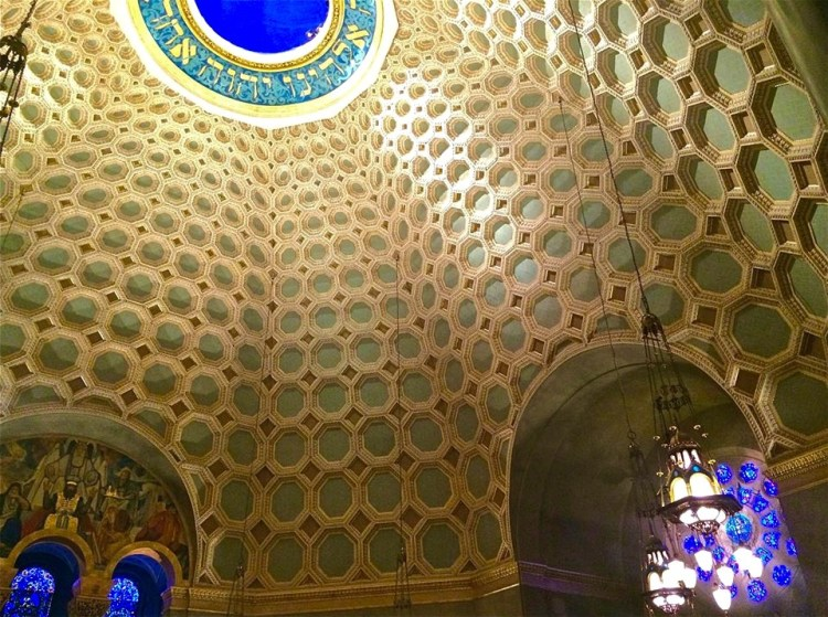 The Temple's immense dome immediately became a landmark in Wilshire Center and throughout Los Angeles. The construction of the temple cost $1.5 million in 1929 dollars.