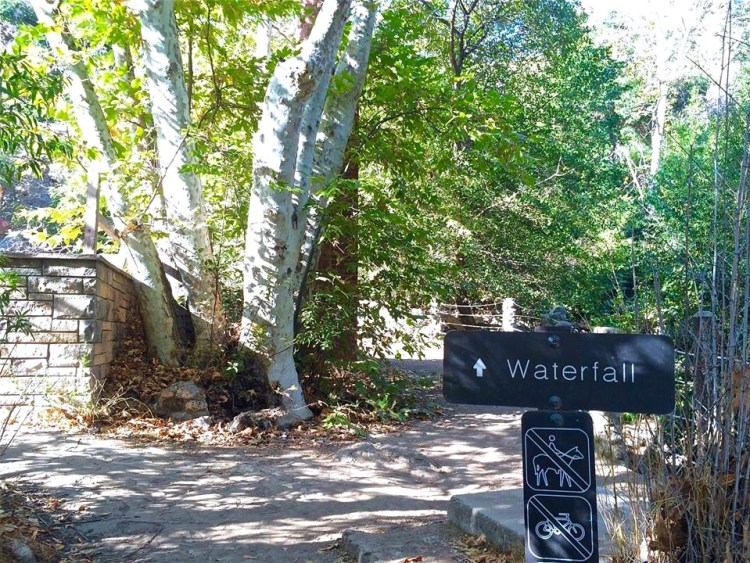 Just around the corner from the house is a small, multi-tiered waterfall with plenty of boulders to scramble around on.