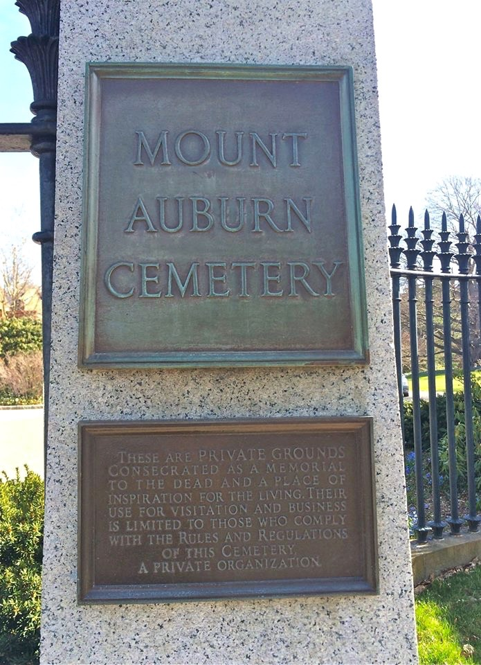 Mount Auburn Cemetery attracts over 200,000 visitors per year.