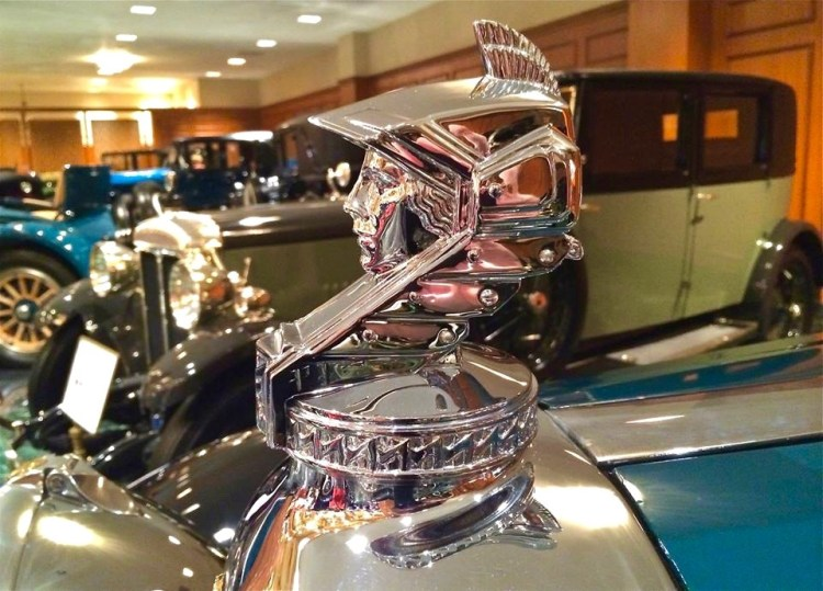 Now that's a hood ornament!