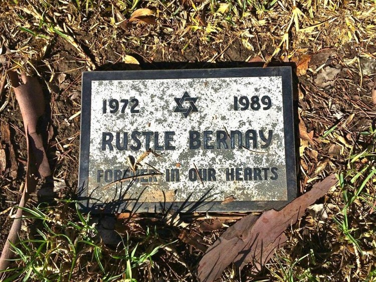 Rustle Bernay was a lovely jewish dog companion.