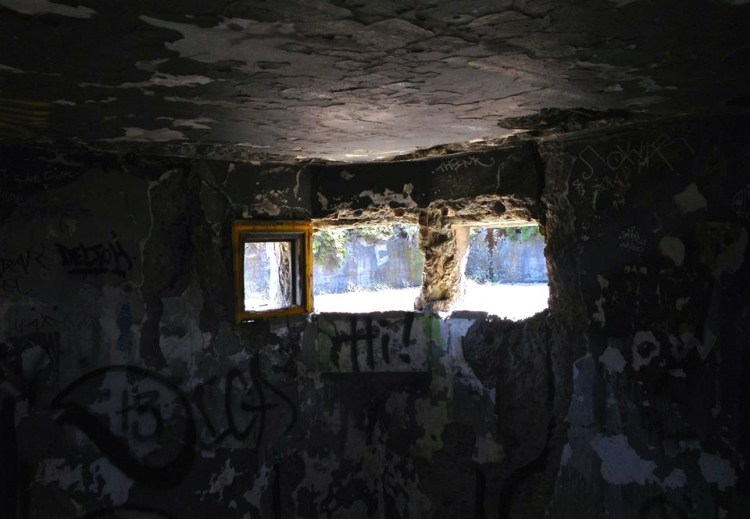 Perhaps a skylight would lighten the place up?