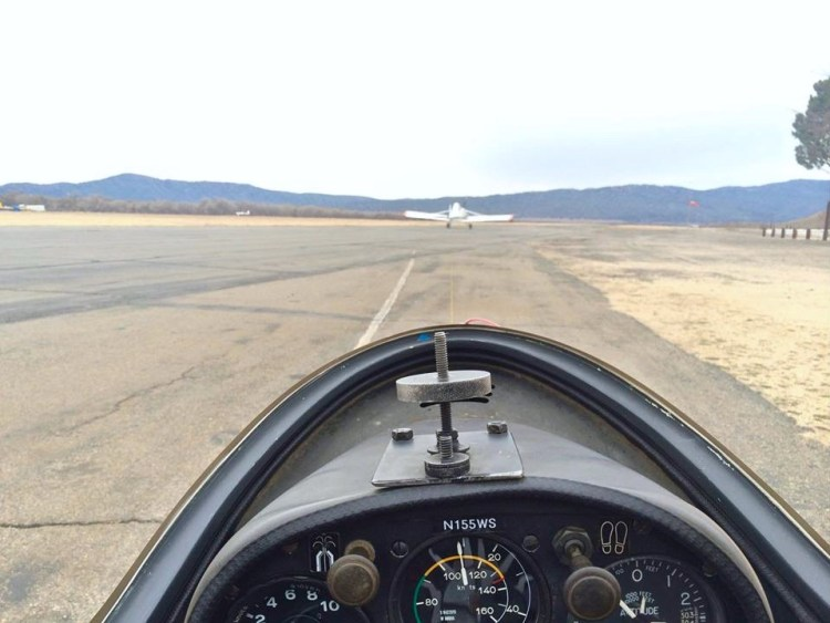 Take off.