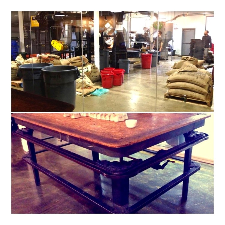 I wanted this table so bad, it's an old mattress stretcher.