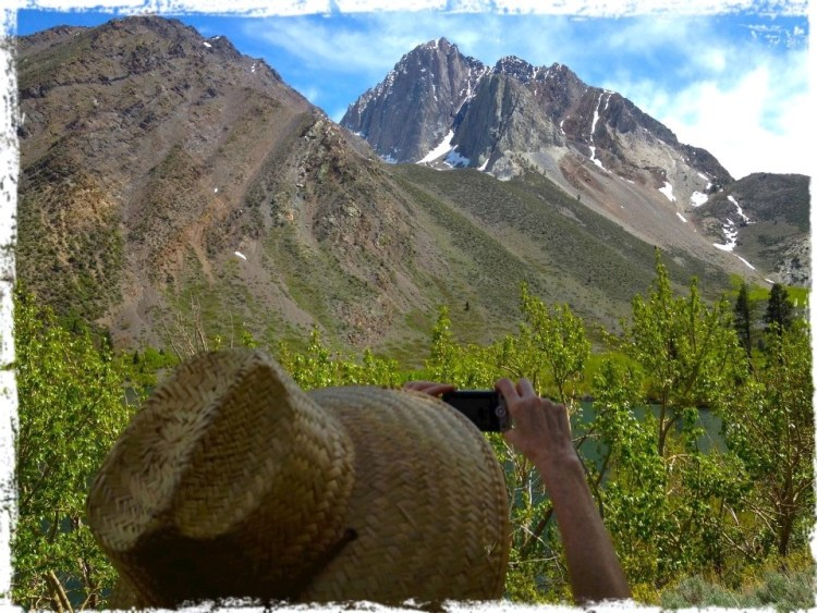 Convict Lake is located in the Sherwin Range of the Sierra Nevada