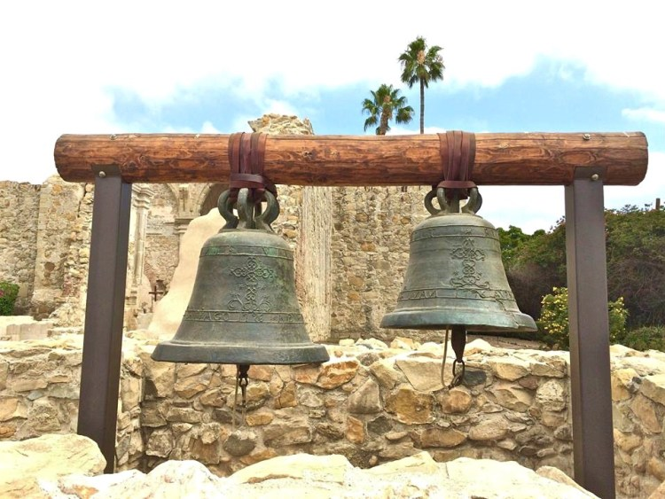 Today, the original two largest bells are hanging where they would have stood within the bell tower of the Great Stone Church.