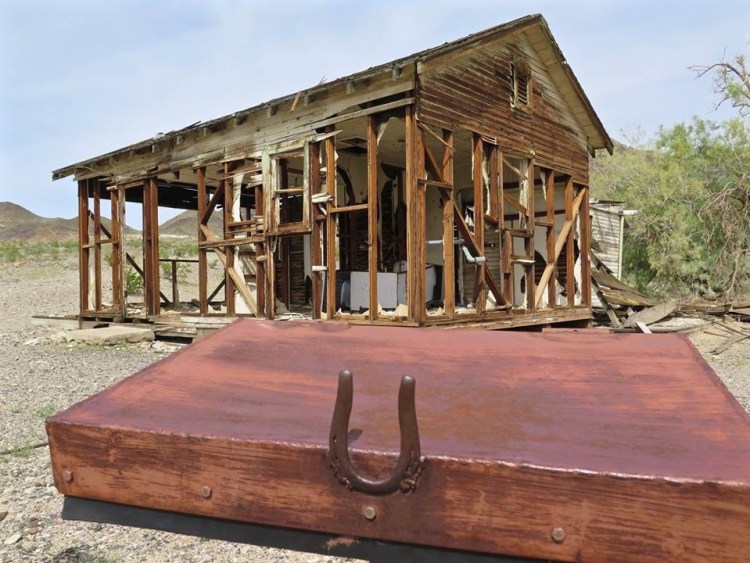 Bill Mann and the Mojave River Valley Museum were able to stop the demolition by becoming stewards of the site. Please assist them by not littering and taking only photographs.