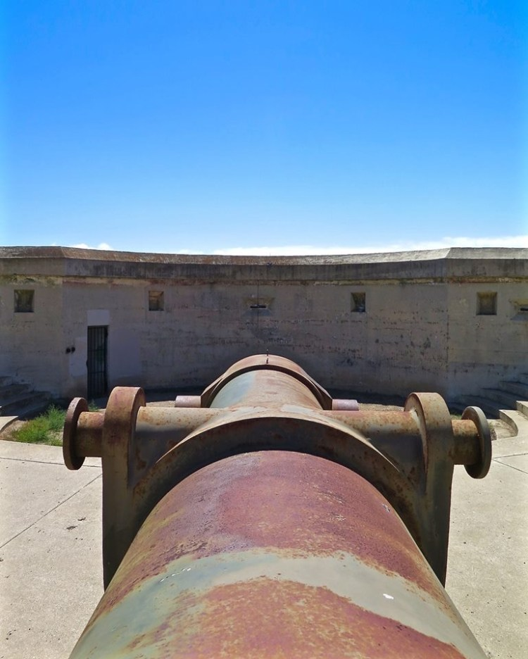 These large gun batteries and the level of noise they created when fired...