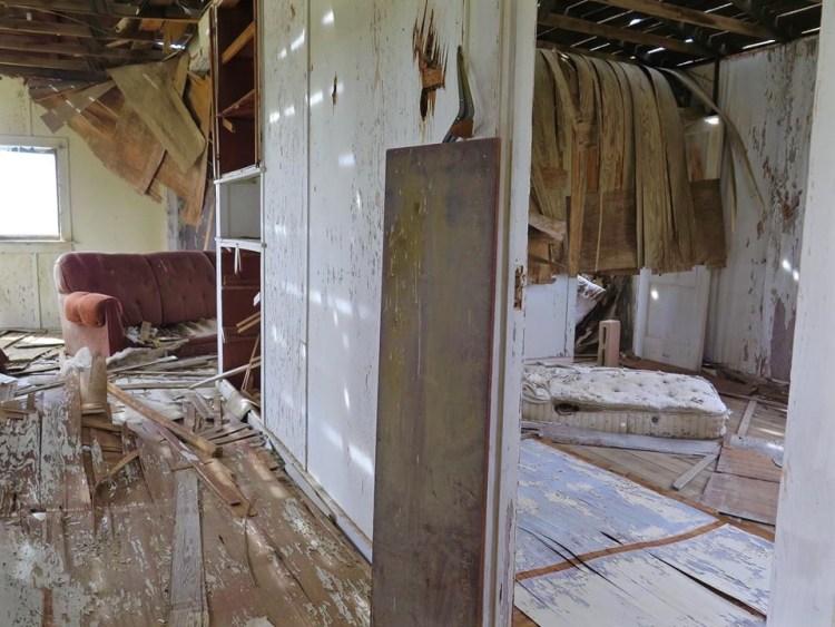 Inside Miners Cabin