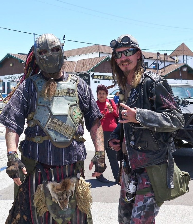 ...and lots of awesome Wasteland Weekenders in full head-to-toe apocalyptic gear.