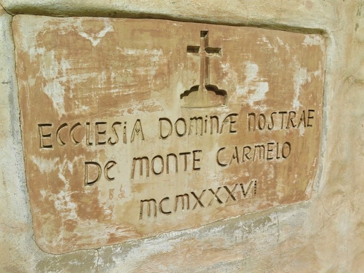 On Sunday, February 28th, 1857, more than 200 people witnessed the placement of the cornerstone of Our Lady of Mount Carmel Church