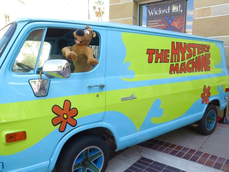 Even Scooby got into the action.