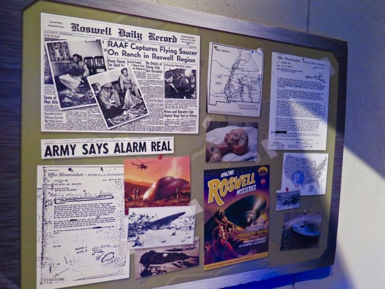 "he second room, which Bouquet considers the ""Area 51 military room,"" brings viewers into the modern era of ufology, beginning in the 1940s to the 1950s. During that time, the term ""flying saucers"" came into the general lexicon, and government entities like the military began paying attention to reports of UFO sightings."