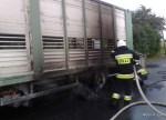 Pożar samochodu ciężarowego - 14.07.2015r (5)
