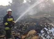 Pożar hali w Ogrodzieńcu (5)