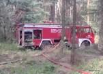 Pożar lasu w Solcy - 23.08.2015r (6)