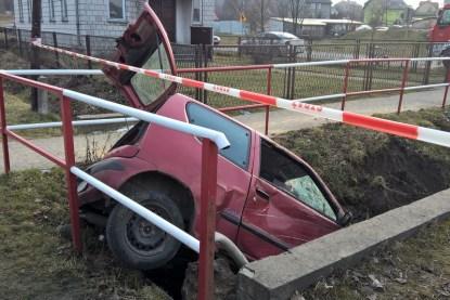 Wypadek drogowy na Sławniowie (1)