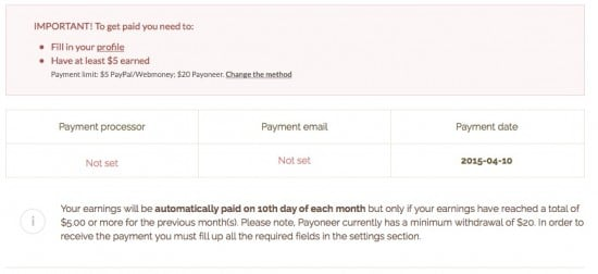 Shorte st review payment
