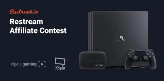 Restream Affiliate Contest