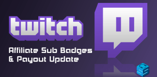 Twitch Affiliate Sub Badges Payout