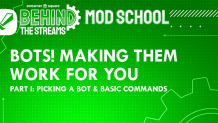 Bots! Making them work for you. Part 1: Choosing a bot and basic commands