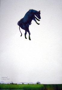 """Painting """"High Rise"""" made by Huma Mulji"""