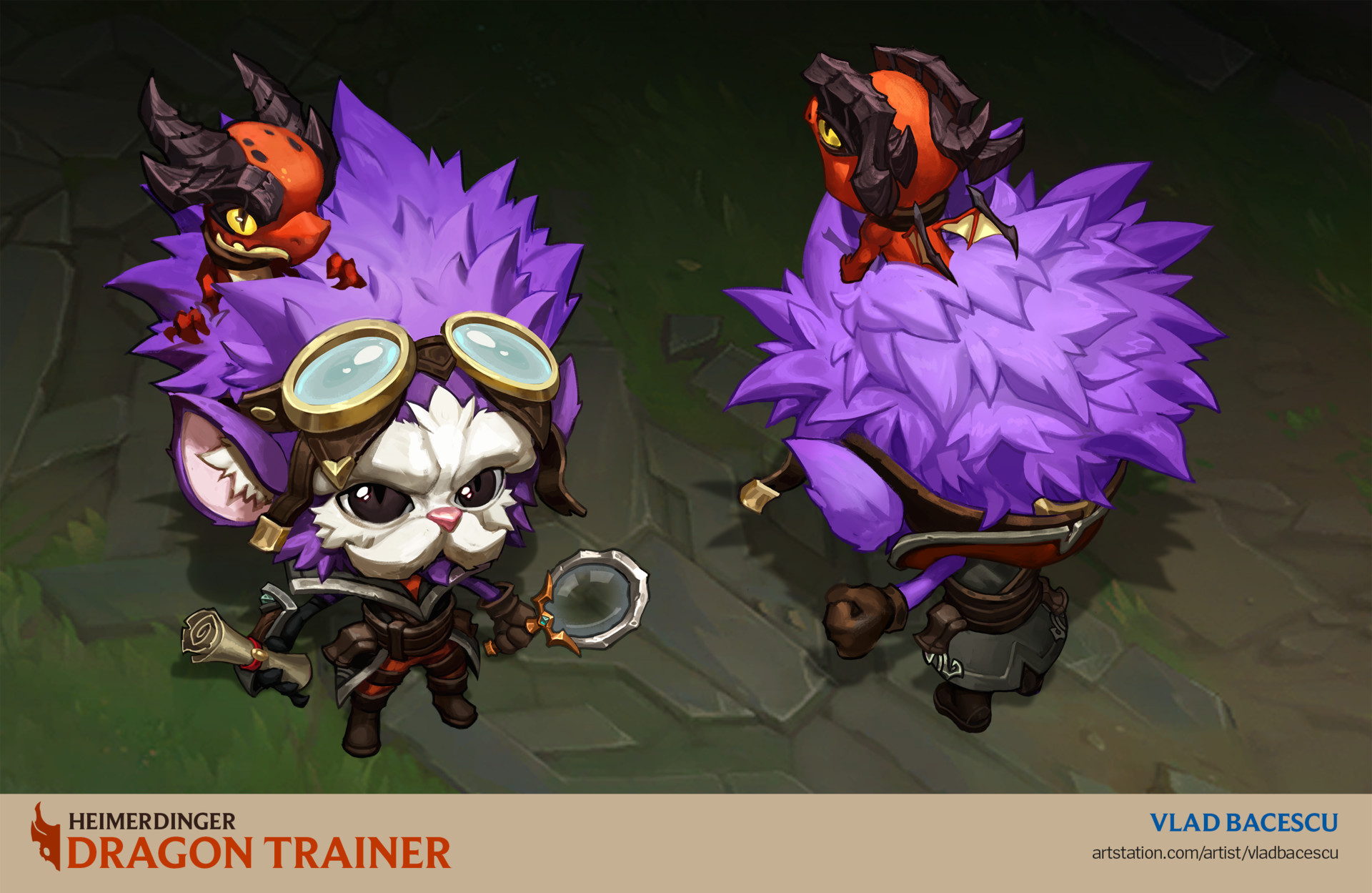 Heimerdinger Treinador de Dragões