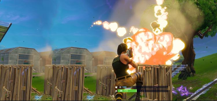 explosivo remoto no Fortnite