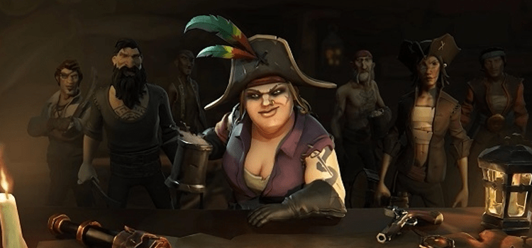 Customizações no Sea of Thieves