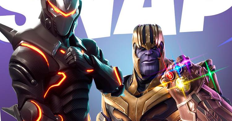 Thanos poderá ser usado em Fortnite