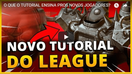 Tutorial do League of Legends