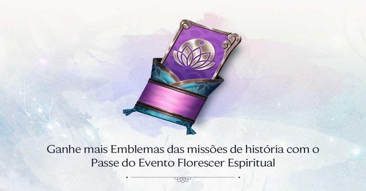 passe do evento spirit blossom
