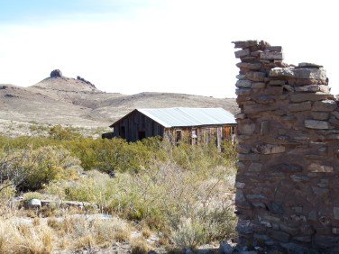 Town and Lizard Mountain